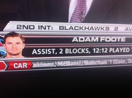 Adam Foote?