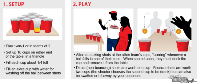 Beer Pong illustration