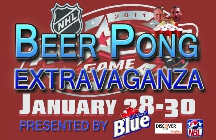 NHL Beer Pong 2011 Extravaganza