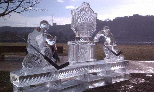 2011 Winter Classic Ice Sculpture