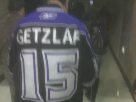 Getzlaf Kings Jersey Foul