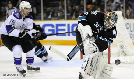 Brad Richardson vs. San Jose Sharks 4/14/11