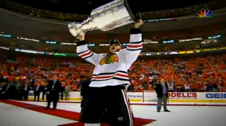 Playoffs Video Toews Cup Raise