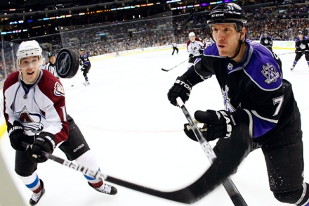 NHL: MAR 22 Avalanche at Kings