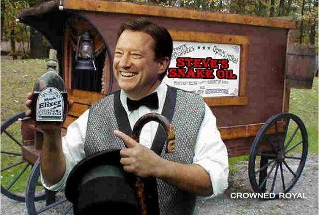 Steve's Snake Oil Sales