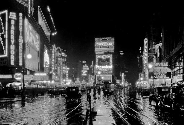 NYC vintage night